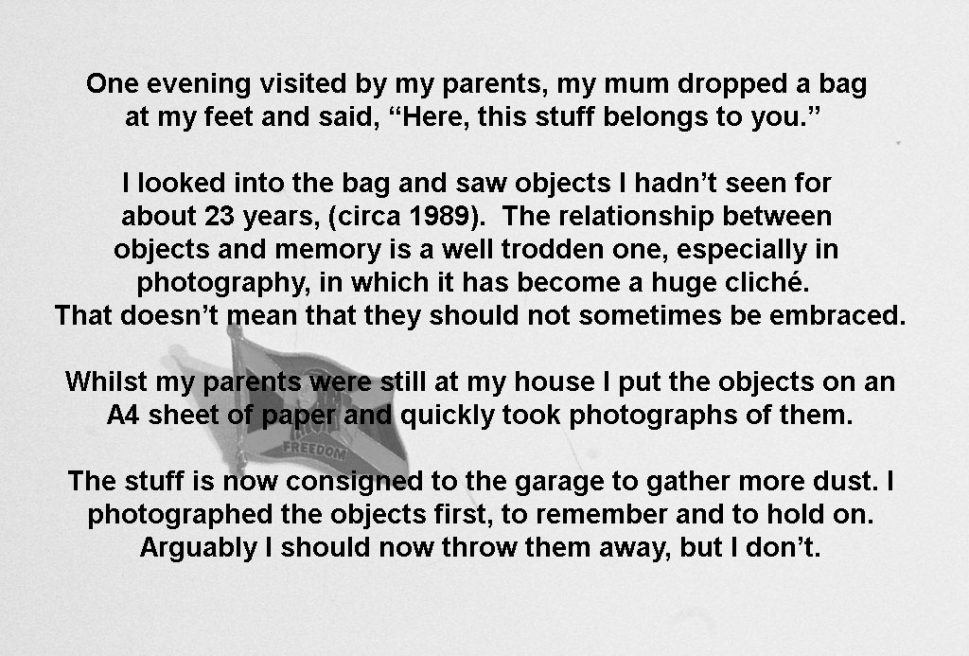 Bag of Crap (Throw, Keep or Photograph?)