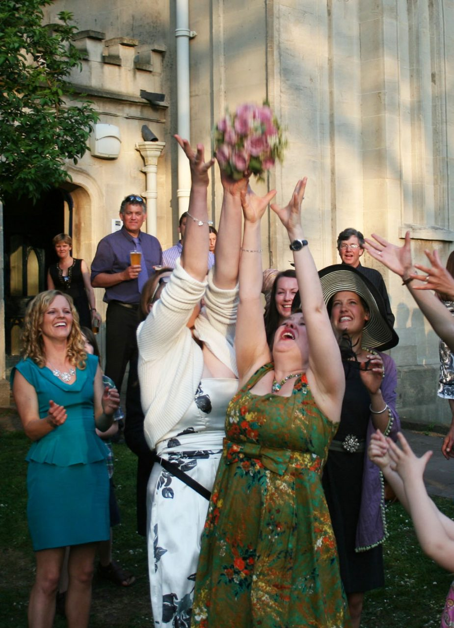 catching bouquet 2- -