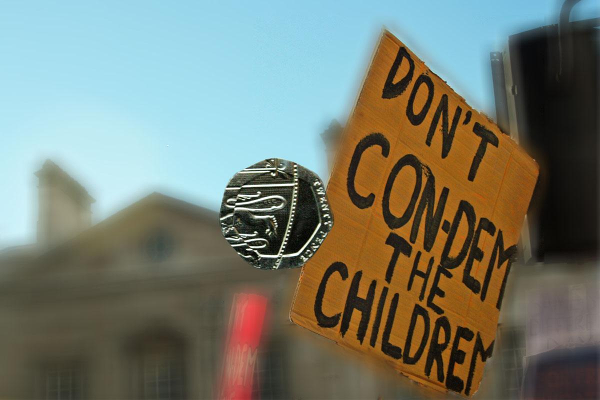 don't con-dem the children 20p