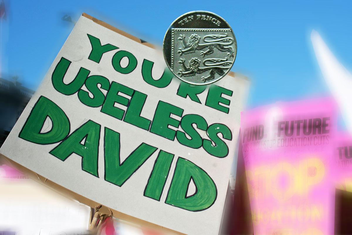 you're useless david 10p
