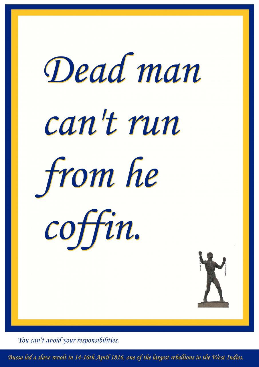 Dead man can't run