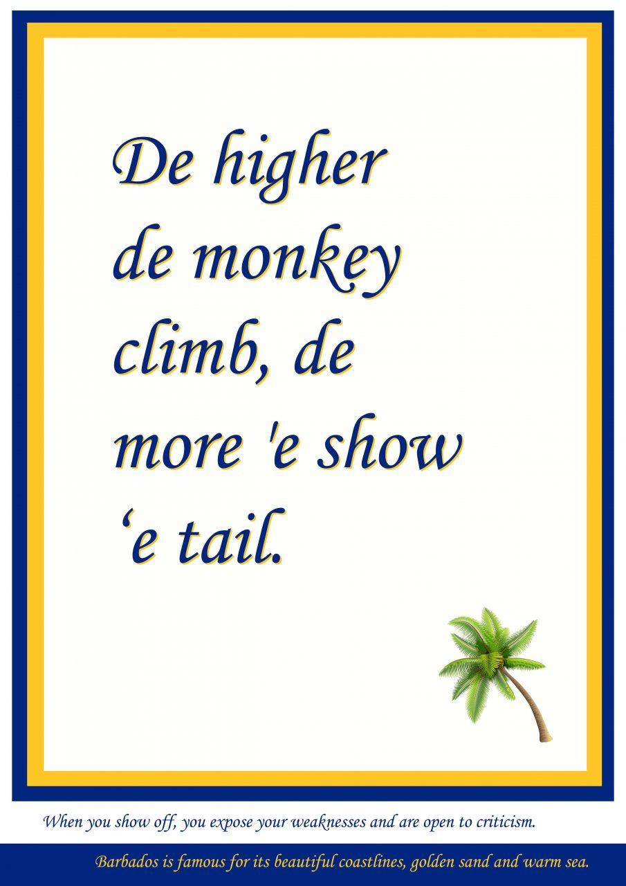 Higher monkey climb