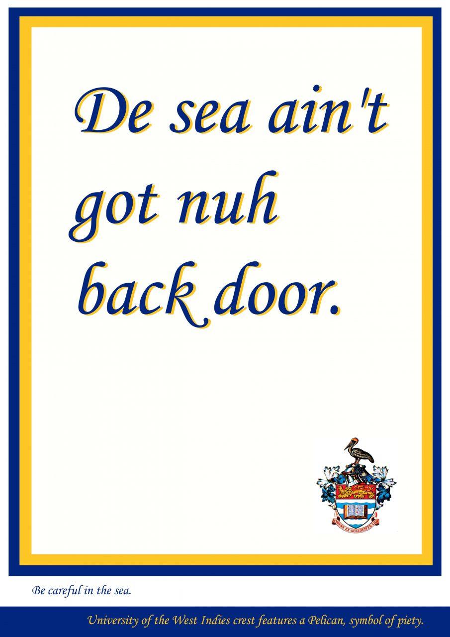 No back door