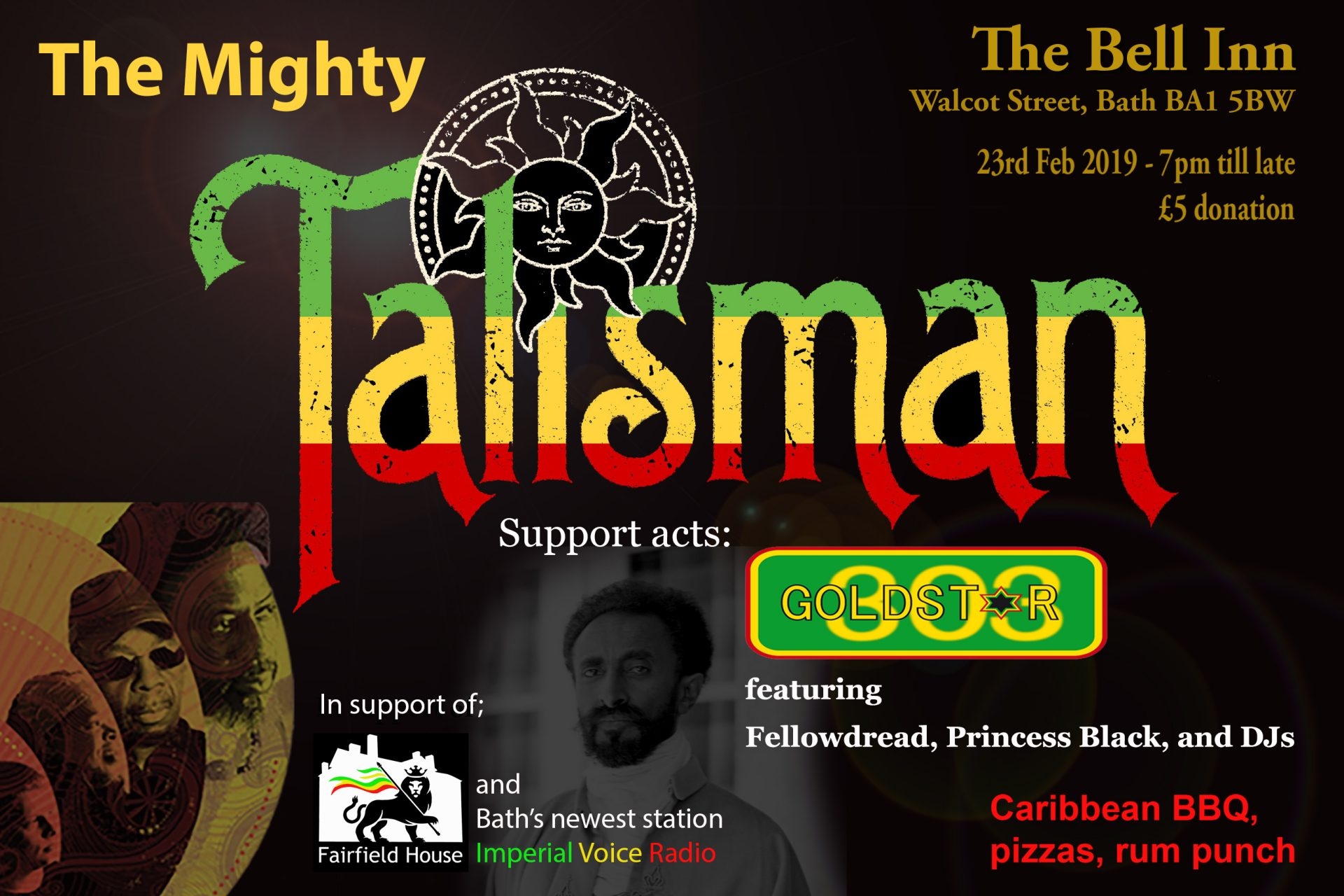 Talisman flyer - update revised 1 Feb 19